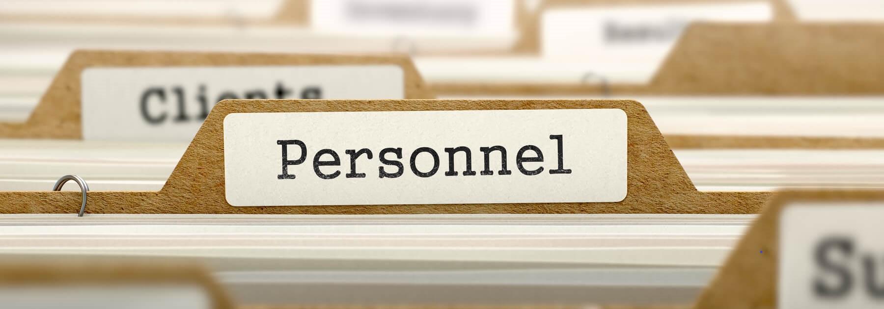 """personnel"" banner stilius"